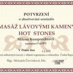 Masáž lávovými kameny Hot Stones